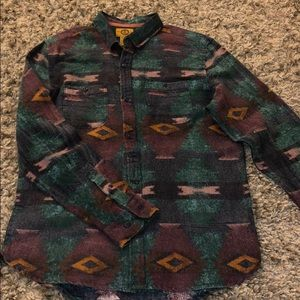 Vintage Style Button Shirt
